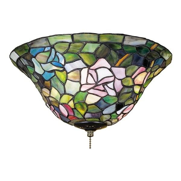 Meyda Tiffany Rosebush 3-light Mahogany Bronze
