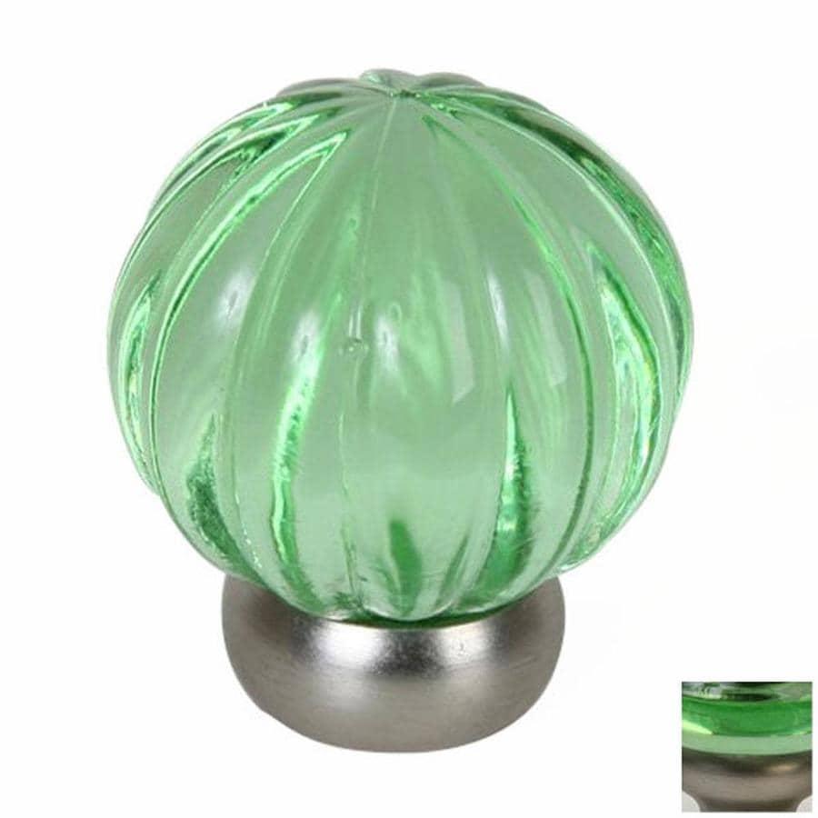 Lews Hardware Melon Glass Transparent GreenBrushed
