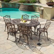 Selling Home Decor Hatian 7-piece Copper Metal