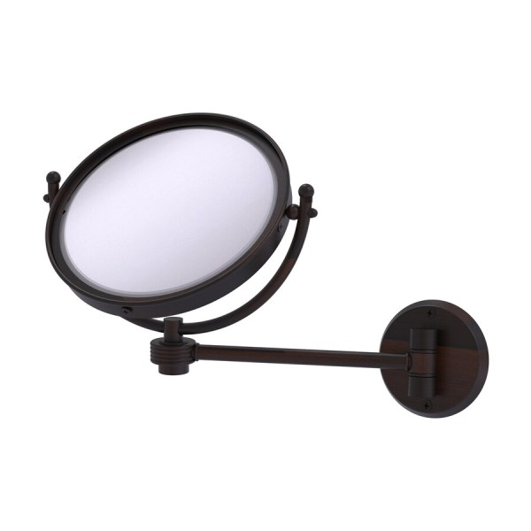 Wall Mounted Magnifying Mirror Bronze