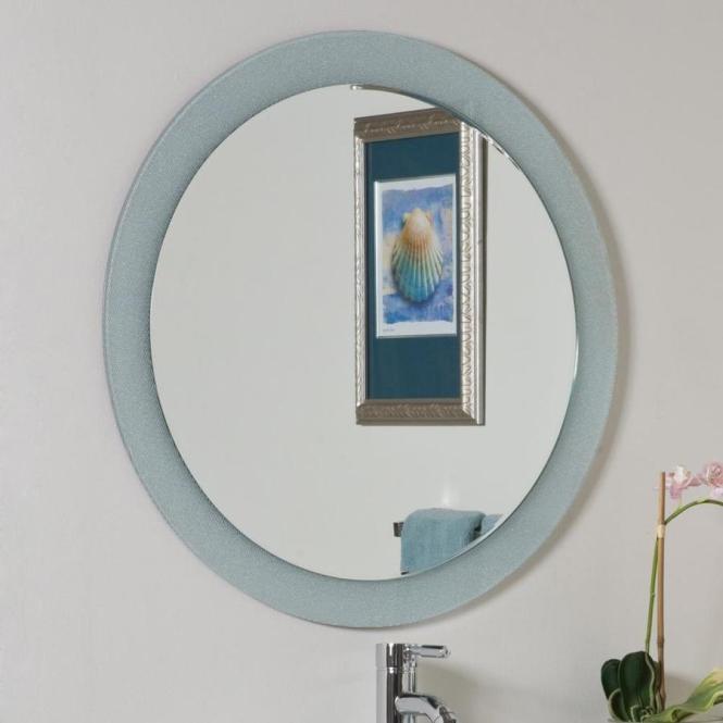 Decor Wonderland Ssm635 Hip To Be Square Frameless Bathroom Mirror