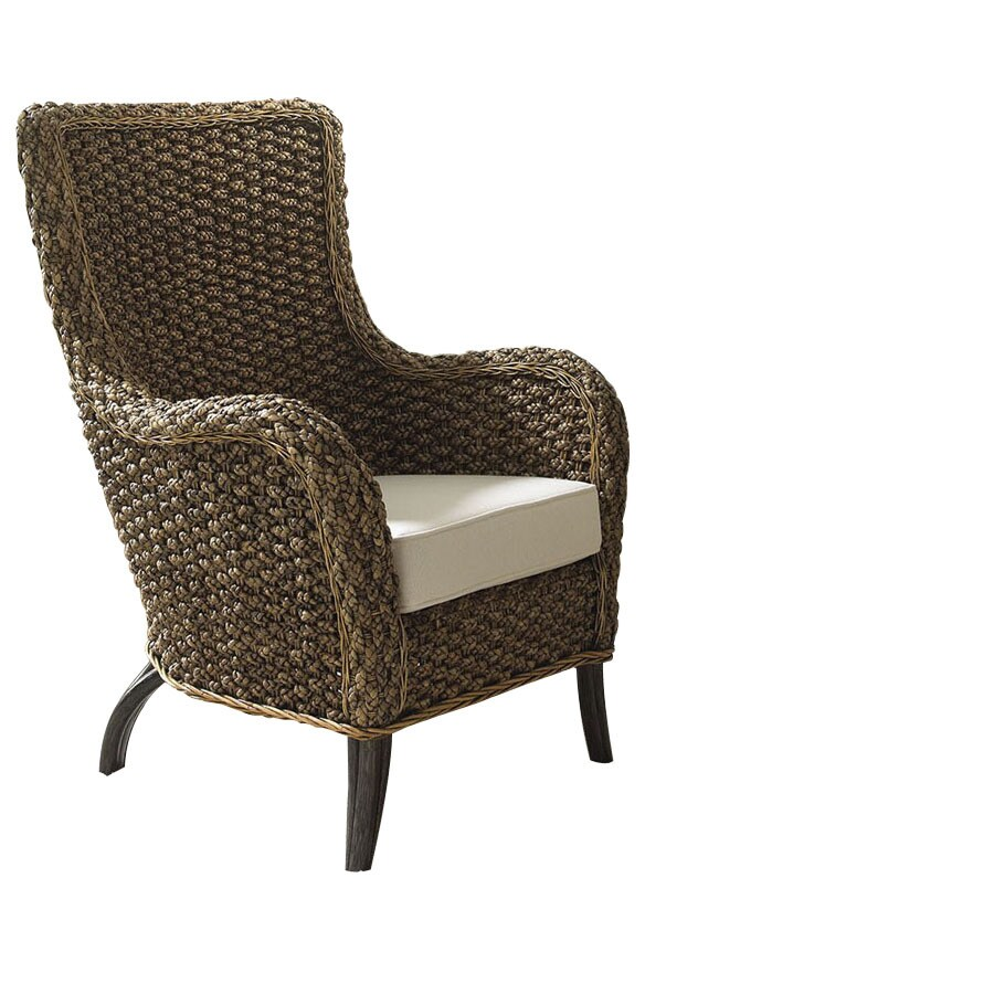 Rattan Accent Chair Shop Hospitality Rattan Cozumel Antique Accent Chair At Lowes