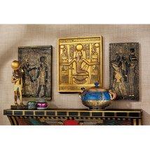 Design Toscano 3-piece Egyptian Temple Stele Sculpture