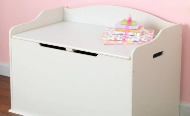 Shop Kidkraft Austin Vanilla Rectangular Toy Box At Lowes
