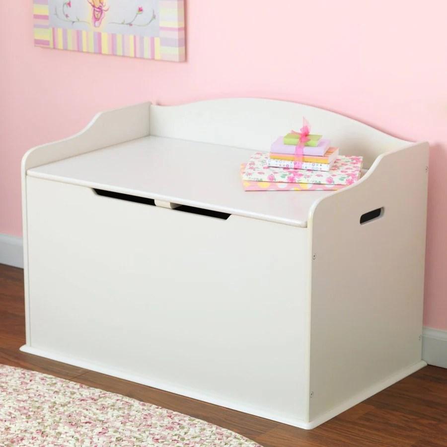 Kidkraft Austin Vanilla Rectangular Toy Box At Lowes