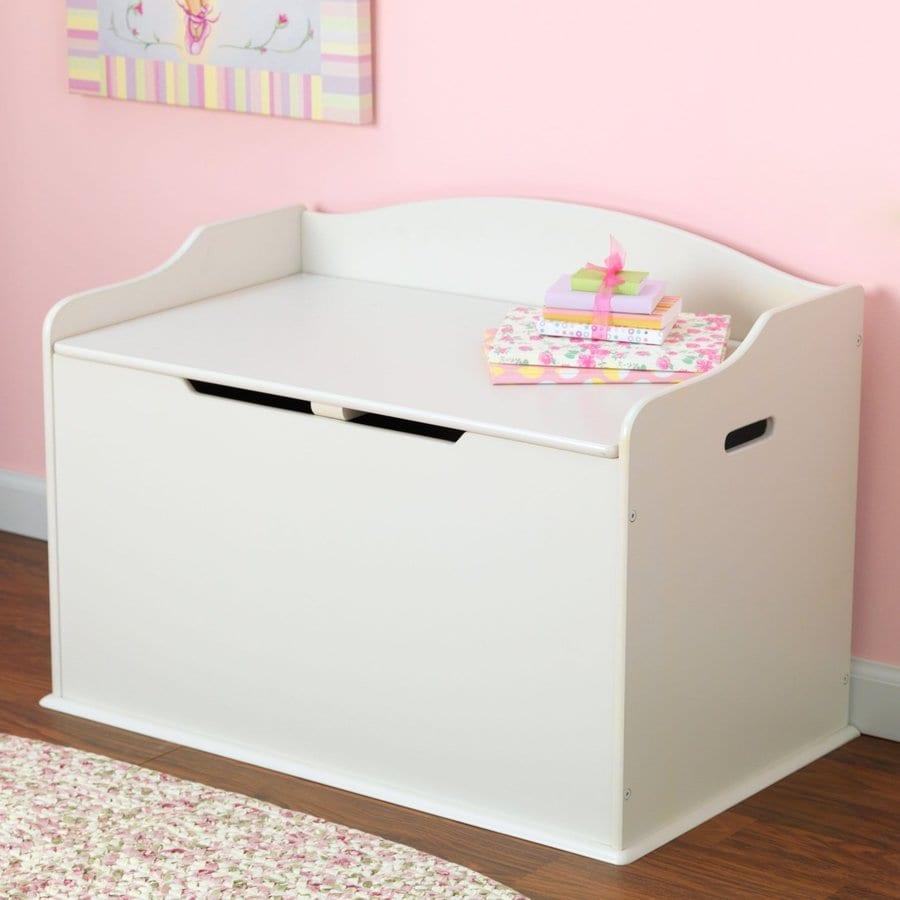 Kidkraft Austin Vanilla Rectangular Toy Box At Lowes