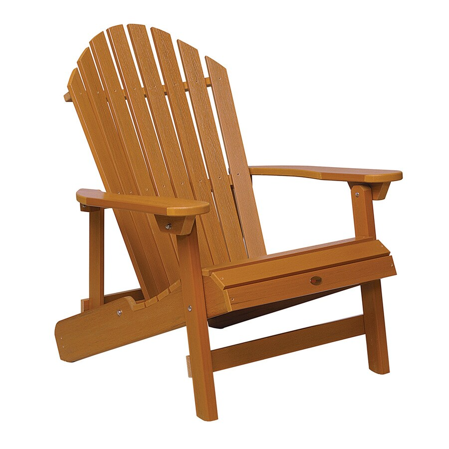 Highwood Hamilton Plastic Adirondack Chair with Slat at