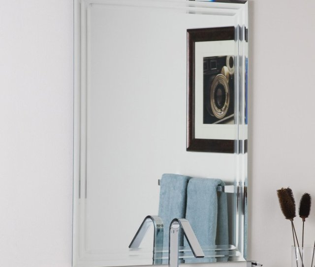 Display Product Reviews For   In X   In Rectangular Frameless Bathroom Mirror