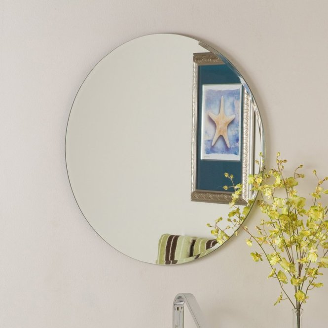 Full Image For Frameless Mirrors 63 Cute Interior And Mirror Bathroom