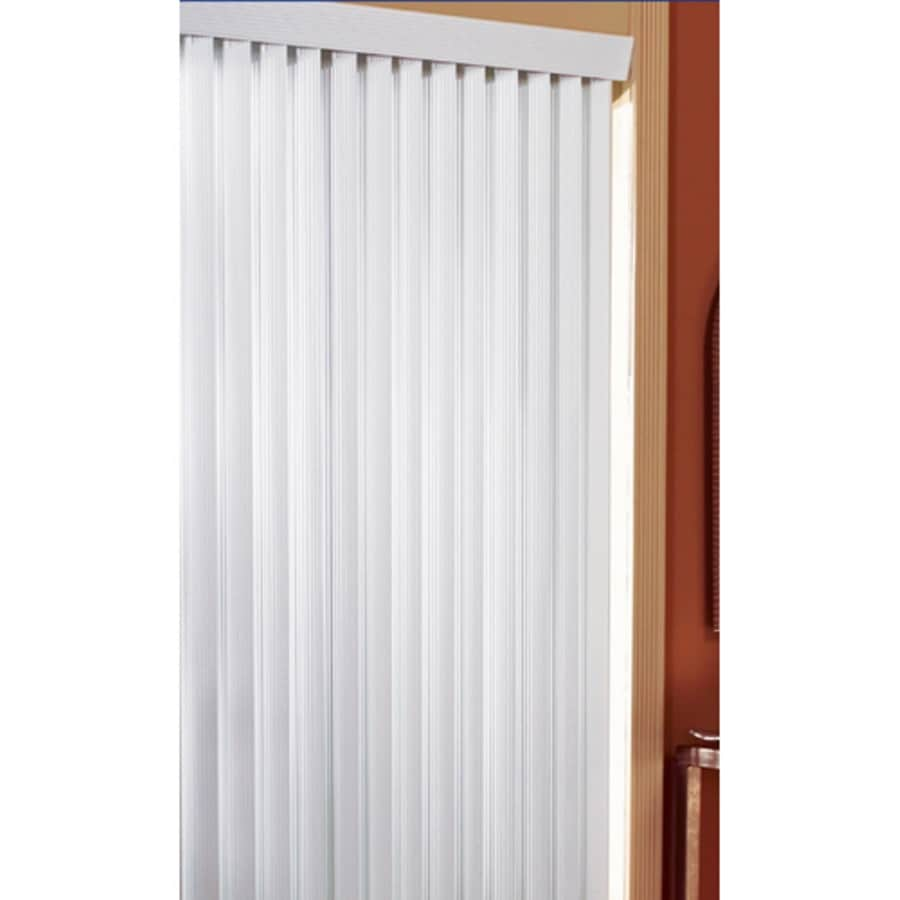 Achim Home Furnishings 60 By 64 Inch Vertical Blinds White