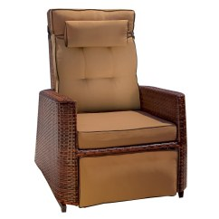 Wicker Recliner Chair Graco High Chairs Target Best Selling Home Decor Brown At Lowes Com