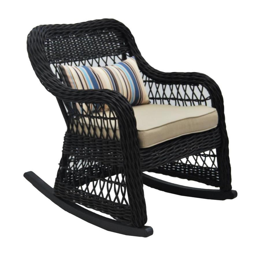 woven rocking chair director covers ikea allen roth belsay steel with tan at