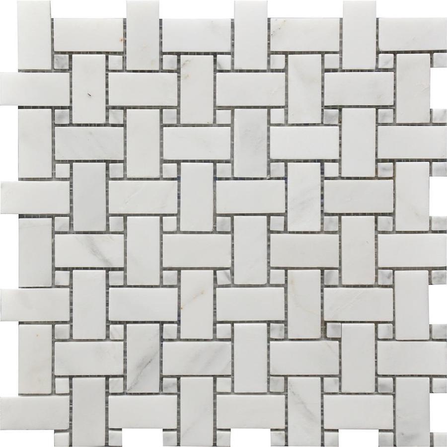 splash mosaic tile marbella 5 pack gray