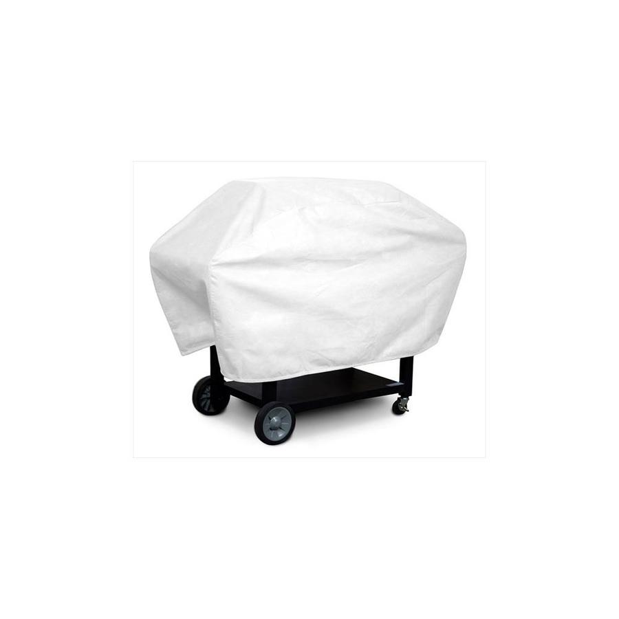 koverroos koverroos 23057 dupont tyvek supersize barbecue cover white 29 d x 76 w x 45 h in in the endless aisle department at lowes com