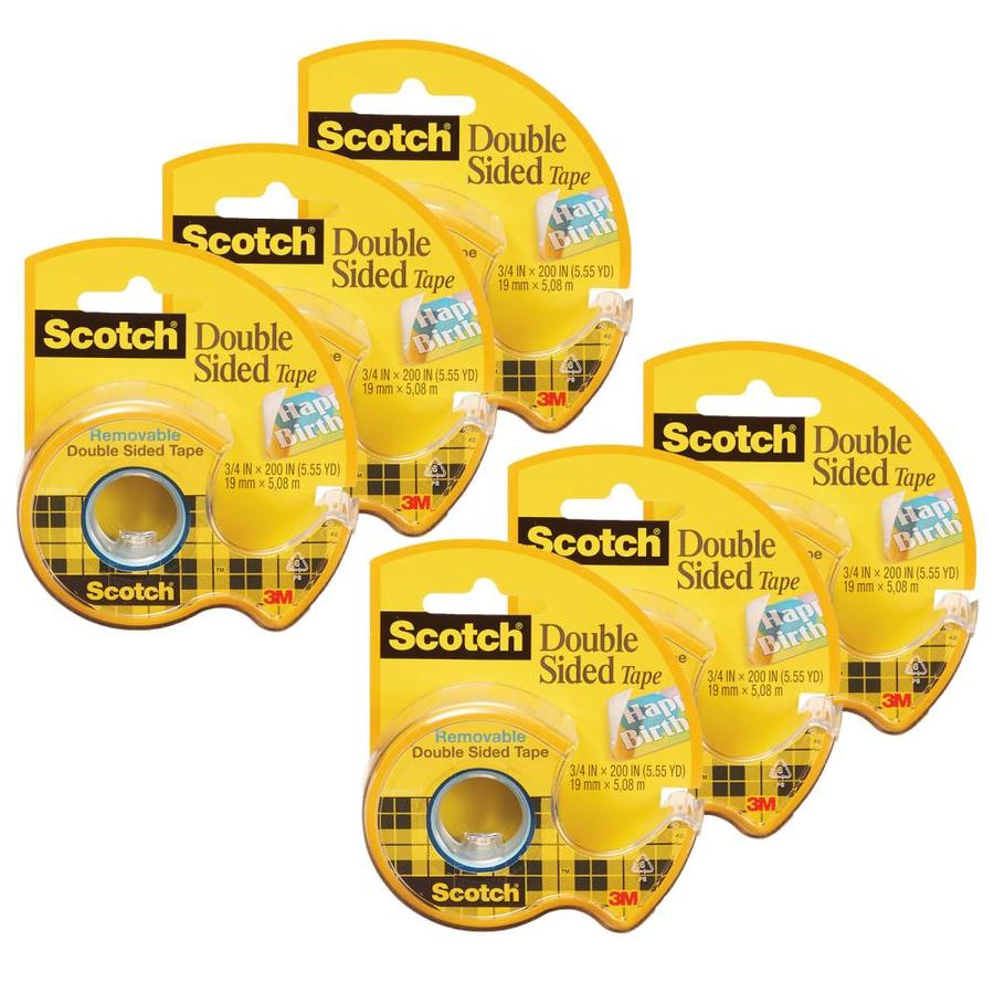 2 pack 1 roll pack scotch removable poster tape 3 4 inch x 150 inches clear tape kolenik transparent tape