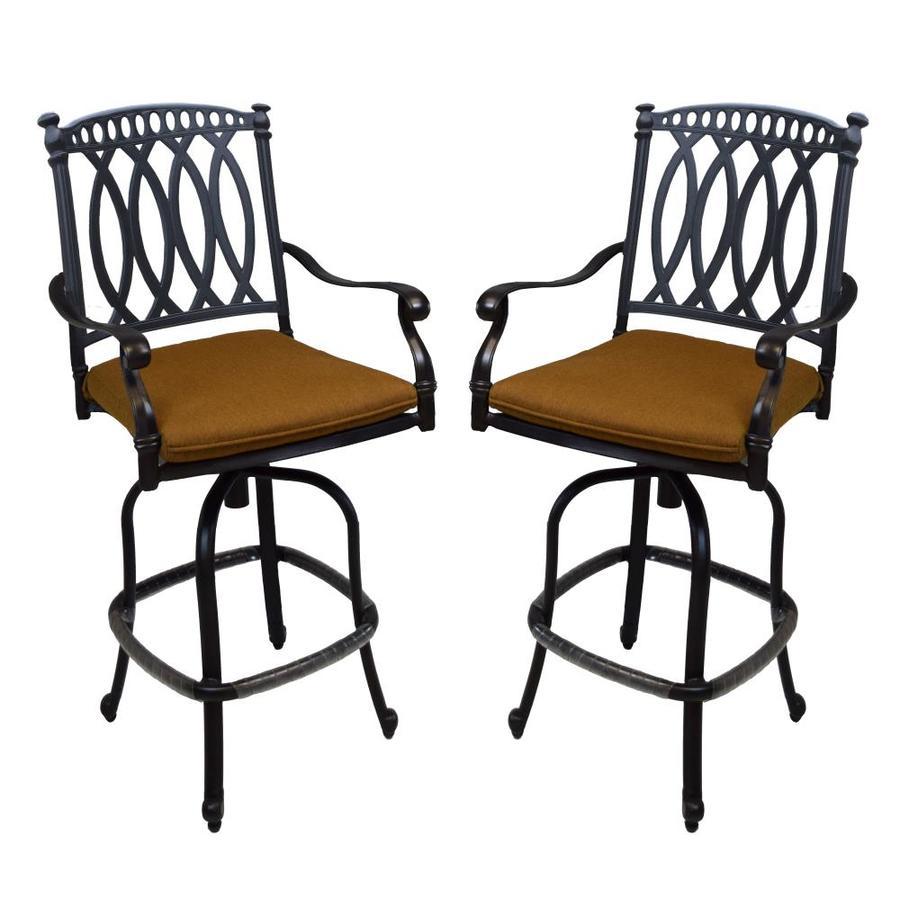 oakland living outdoor bar stools set