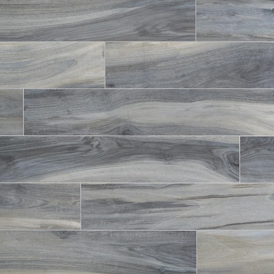 artmore tile peruvian 4 pack blue 8 in x 48 in matte porcelain wood look floor and wall tile