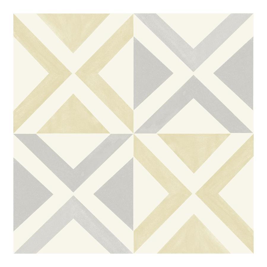 floorpops isosceles peel and stick floor tiles set of 20