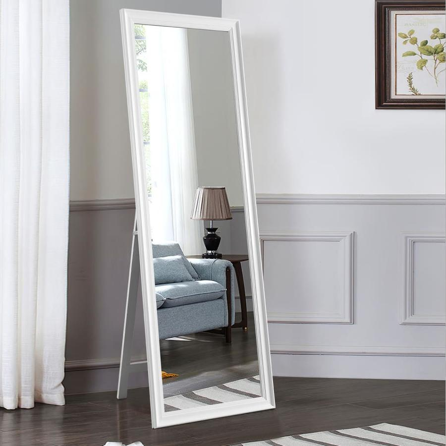 neutype ps frame free standing floor and wall oversize full length mirror