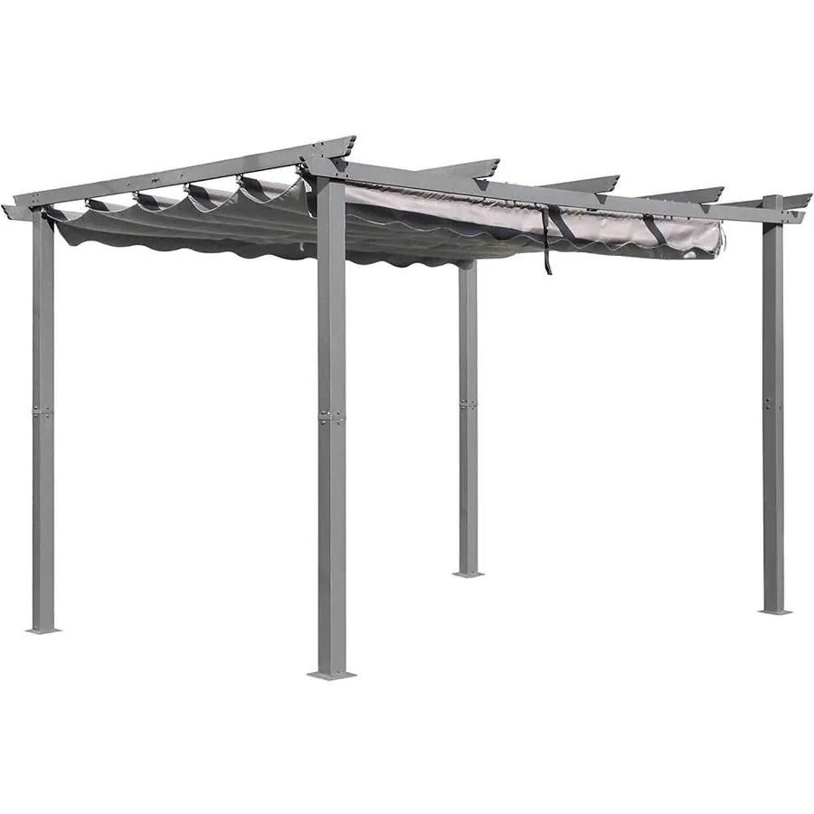 13 ft aluminum outdoor patio pergola