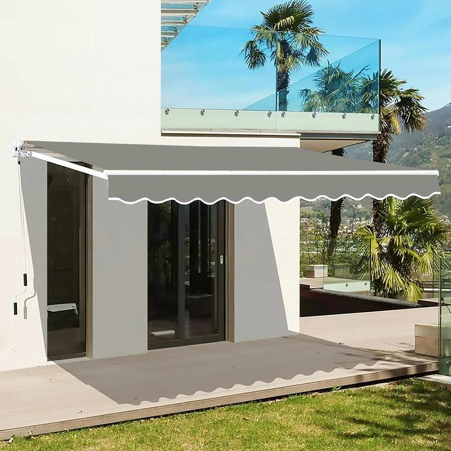 veikous 10 8 retractable patio awning