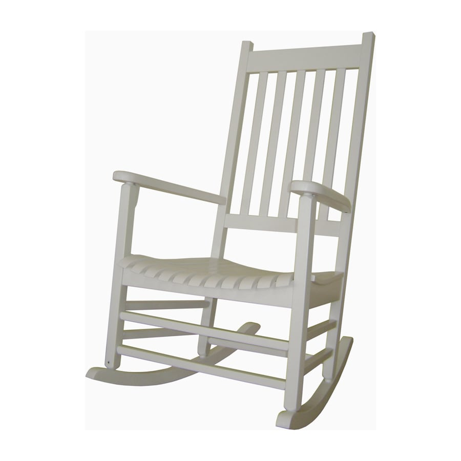 Lowes Rocking Chairs International Concepts Acacia Rocking Chair With Slat Seat At