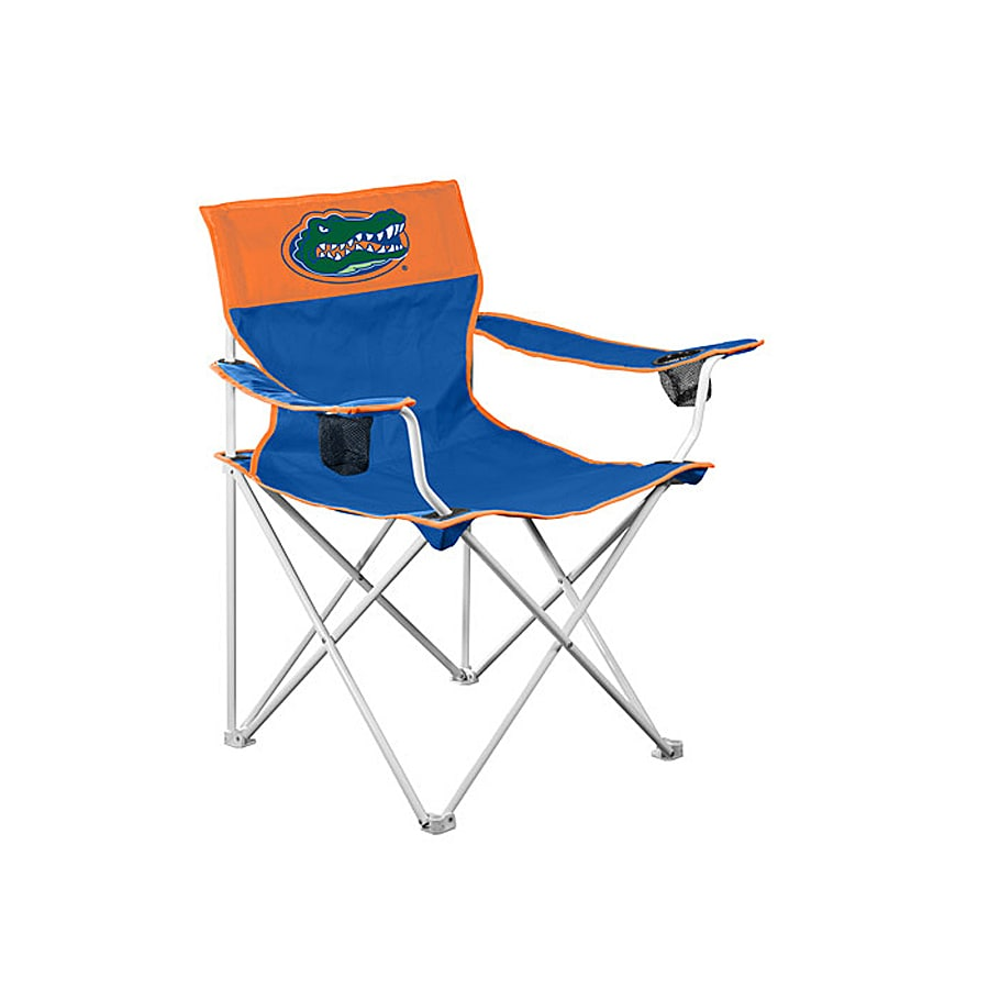 big folding chairs chair covers for rent logo boy ncaa university of florida gators camping
