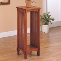 Coaster Fine Furniture 30-in Oak Indoor Square Wood