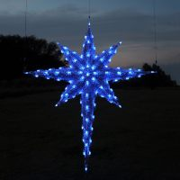 christmas star decorations outdoor | Billingsblessingbags.org