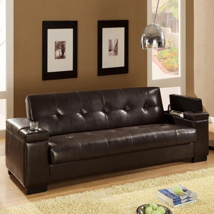 coaster leather sofa reviews metal table shop fine furniture dark brown vinyl bed at ...