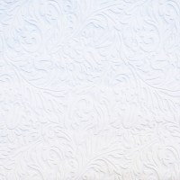 Shop allen + roth White Vinyl Paintable Damask Wallpaper