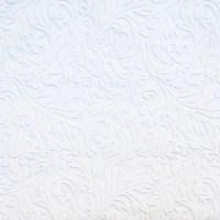 Shop allen + roth White Vinyl Paintable Damask Wallpaper ...
