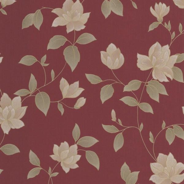 Shop Graham & Brown Red Paper Floral Wallpaper at Lowes.com