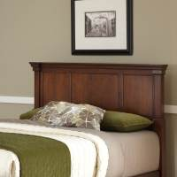 Shop Home Styles Aspen Rustic Cherry Full/Queen Headboard ...