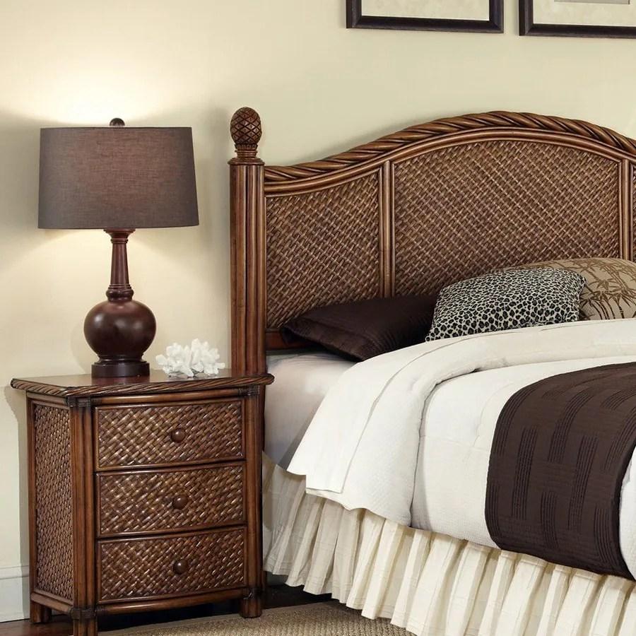 Home Styles Marco Island Cinnamon FullQueen Bedroom Set