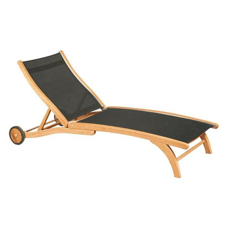 Teak Chaise Lounge Chairs Hiteak Furniture Black Pearl Teak Chaise Lounge Chair With Black