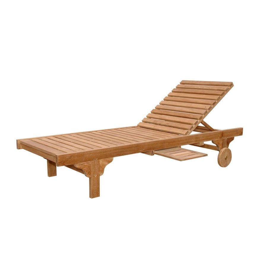 Teak Chaise Lounge Chairs Anderson Teak Capri Sun Teak Chaise Lounge Chair With Slat At