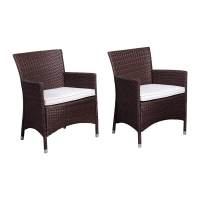Shop International Home Atlantic 2-Count Wicker Patio ...