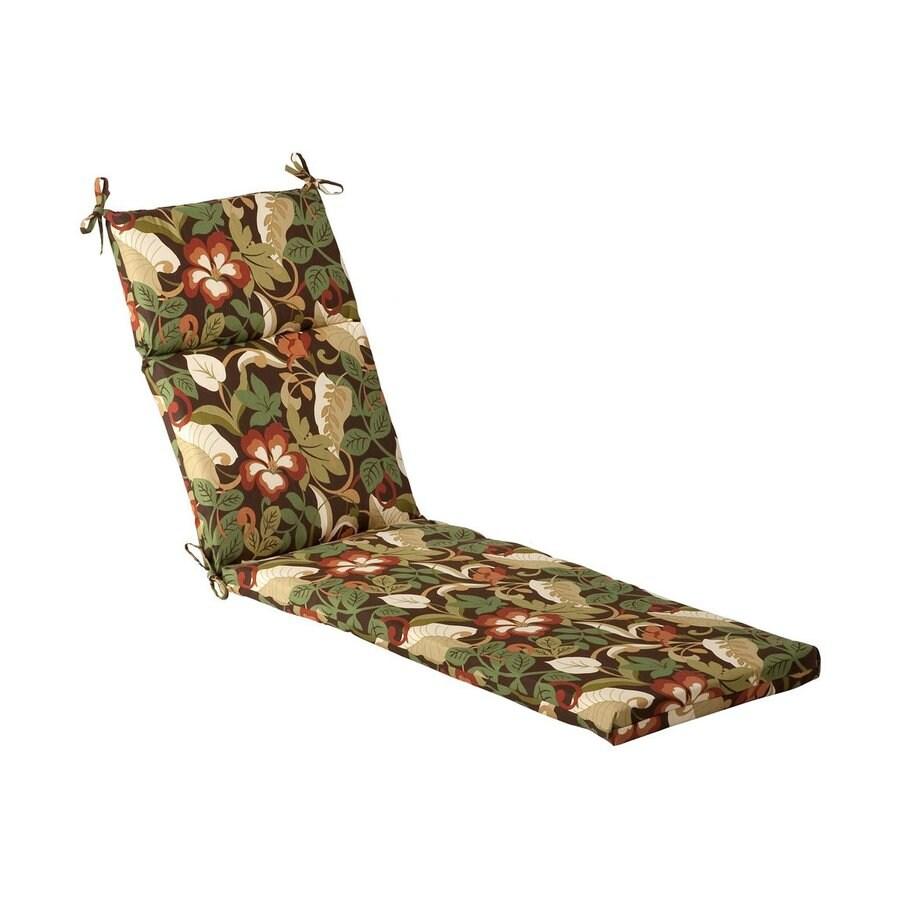 white lounge chair cushions kitchen pads non slip pillow perfect 1 piece brown green patio chaise cushion