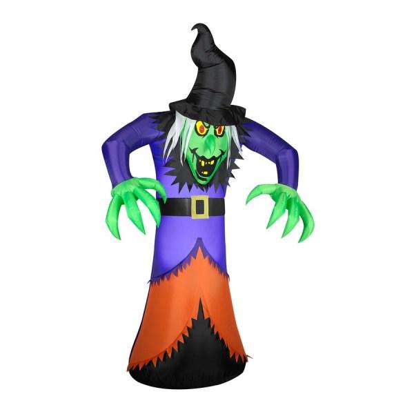 Gemmy 7-ft Internal Light Witch Halloween Inflatable