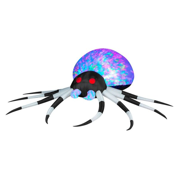 2.6246-ft X 8.0052-ft Lighted Spider Halloween