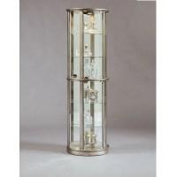 Shop Pulaski Platinum Half-Round Curio Cabinet at Lowes.com