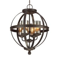 Shop Sea Gull Lighting Sfera Autumn Bronze Wrought Iron ...