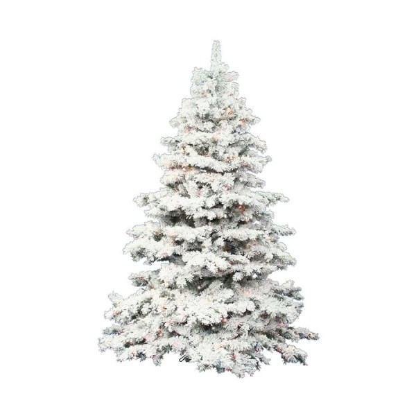 Shop Vickerman 75ft PreLit Alaskan Pine Flocked