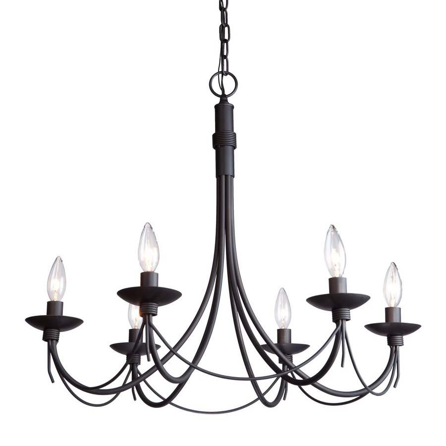 Shop Artcraft Lighting Wrought Iron 6