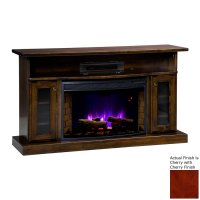 Shop Topeka Innovative Concepts 49.5-in W 5200-BTU Cherry ...