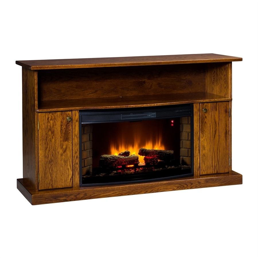 Shop Topeka Innovative Concepts 60 In W 5200 Btu Red Oak
