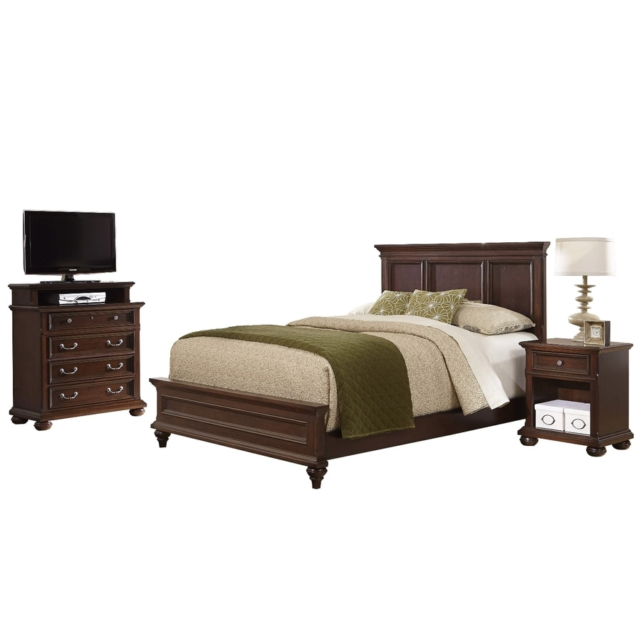 Shop Home Styles Colonial Classic Dark Cherry Queen