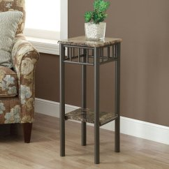 Tall Square Kitchen Table And Chairs Shop Monarch Specialties 28-in Cappuccino Faux Marble ...