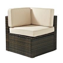 Crosley Outdoor Furniture Wicker Corner Chair